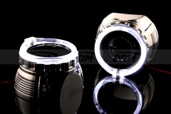 H1-V2 Shrouds, 2.5in, w/Samsung LED Halo Rings